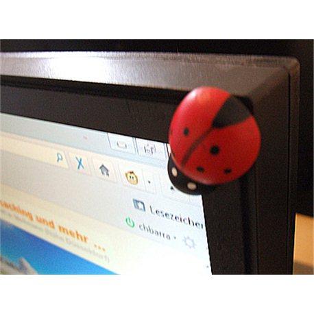 Travel bug - Sticker - 16,5 cm, decal, 4 st