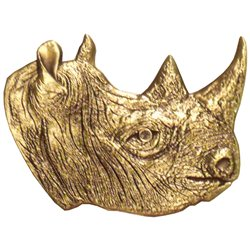 Rhinoceros - Antique Bronze