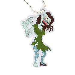 Halloween Tiffany the Zombie Travel Tag