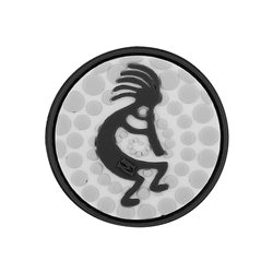 Maxpedition Patch Kokopelli Schwarz