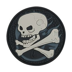 Maxpedition Patch Skull Schwarz