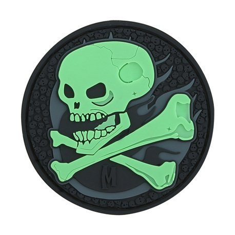 Maxpedition Patch Skull Glow