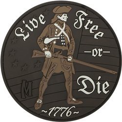 Maxpedition Patch Live Free or Die Arid
