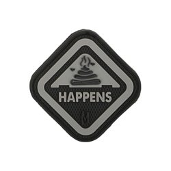 Maxpedition Patch It Happens Schwarz