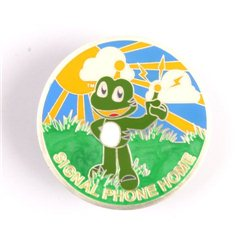 Signal Phone Home Satin Silver LE Geocoin