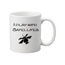 Kaffee + Teebecher: Play with Satellites