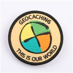Geocaching G Patch Aufnäher This is our World