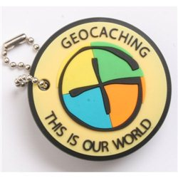 Geocaching This is our World Anhänger