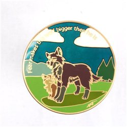 The Wolves Are Coming Antique Bronze LE100 Geocoin