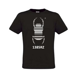Travel Bug® T-Shirt Schwarz