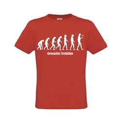 Evolution T-Shirt Rot