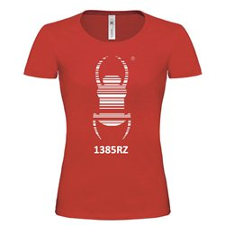 Girlie Shirt Travel Bug® Rot
