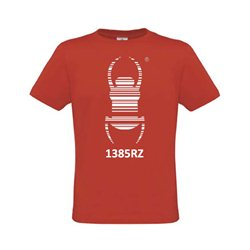 Geocaching T-Shirt Travel Bug® Rot