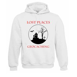 Lost Places, Kapuzen-Pullover (weiss)