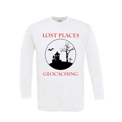 Lost Places - Longsleeve (weiss)