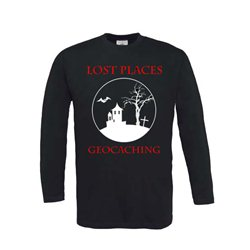 Longsleeve Lost Places Schwarz