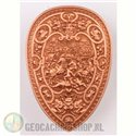 Hannibal Geocoin LE - Antique copper