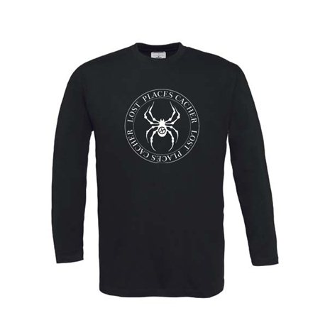 Lost Places Spider - Long Sleeve (schwarz)