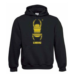 Travel Bug® - Kapuzen-Pullover deluxe (gold)