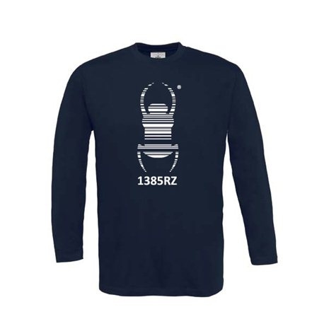 Travel Bug® - Longsleeve (blau)