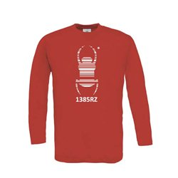 Travel Bug® - Longsleeve (rot)