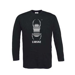 Travel Bug® - Longsleeve (schwarz)
