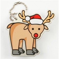 Travel tag Rudolph the Reindeer