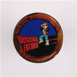 'It''s Geocaching Time Geocoin Polished Gold RE'
