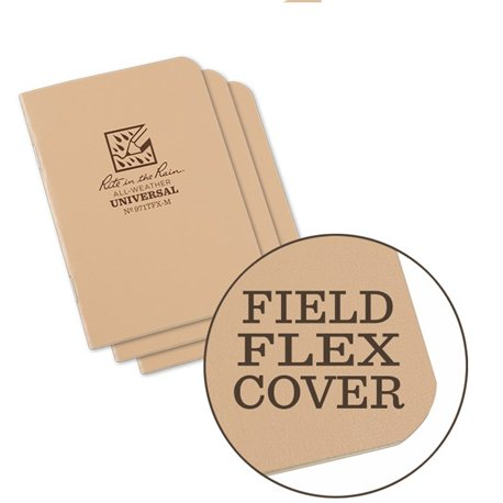 Logbuch RITR, flex-cover medium, tan