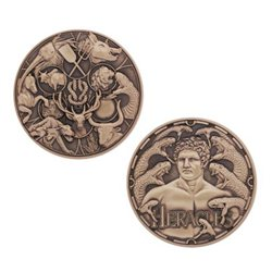 Greek Gods Geocoin Series: Heracles