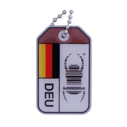 Travel Bug origins - Germany - V2