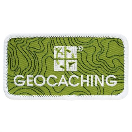 Geocaching Logo Patch - Velcro