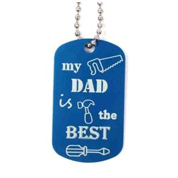 Daddy Travel Tag