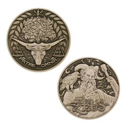 Greek Gods Geocoin Series: Zeus