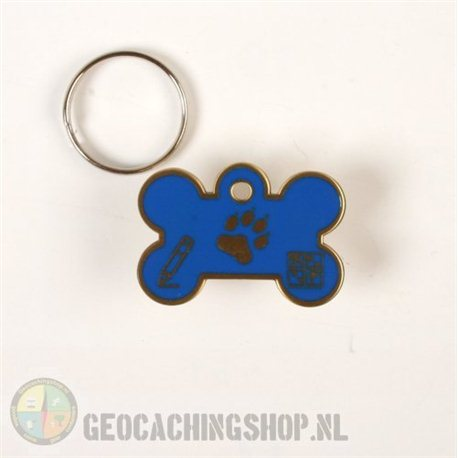 Happy Birthday Geocoin - antiek zilver