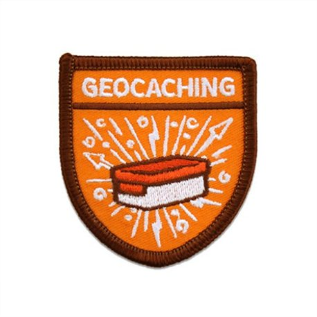 Geocaching Scout Patch Aufnäher