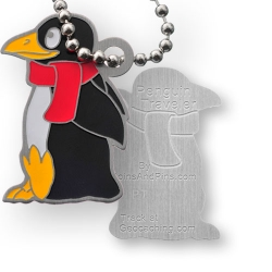 Travel Penguin Tag