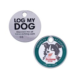 Geopets Academy - Log my Dog tag