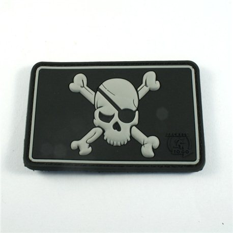 Pirate Skull patch swat