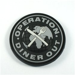 Diner Out  badge - swat