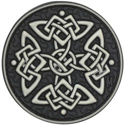 Maxpedition Celtic Cross patch - glow