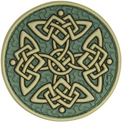 Maxpedition Celtic Cross patch - color