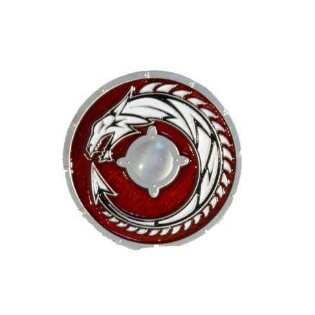 Viking Dragon Shield Kvasir Geocoin