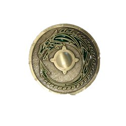 Viking Dragon Shield Dellingr LE Geocoin