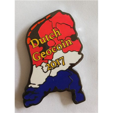 Dutch Geocoin 2017 - Black Nickel
