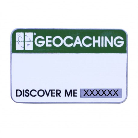 Event Cache Name Tag Trackable Namensschild