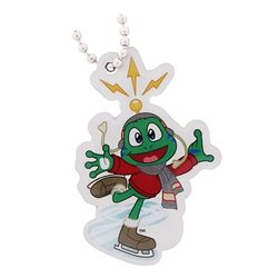 Signal the Frog Travel Tag - Wintersport Schlittschuhlaufen