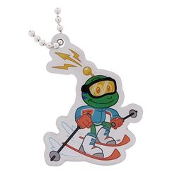 Signal the Frog Travel Tag - Wintersport Skifahren