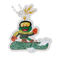 Signal the Frog Travel Tag - Wintersport Snowboarding