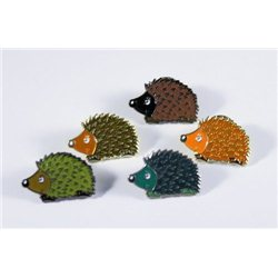 Hedgehog Igel Pin 5er Set